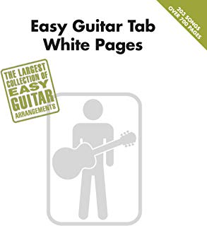 Easy Guitar Tab White Pages Songbook