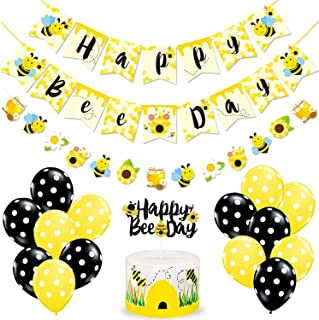 bee themed birthday party supplies