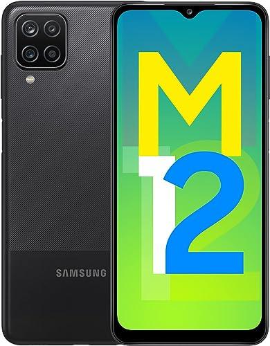 Samsung Galaxy M12 (Black,4GB RAM, 64GB Storage) 6000 mAh with 8nm Processor | True 48 MP Quad Camera | 90Hz Refresh ...