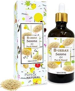 B-URBAN Sesame Oil 100% Natural Pure Undiluted Uncut Carrier Oil 100ml
