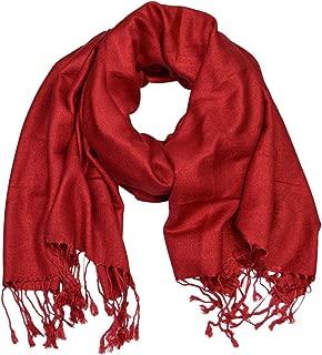 Floral Jacquard Scarf Women's Fashion Shawl Long Soft Accent Wrap