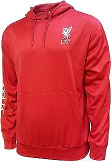 Liverpool F.C. Front Fleece Jacket Sweatshirt Official Soccer Hoodie 018