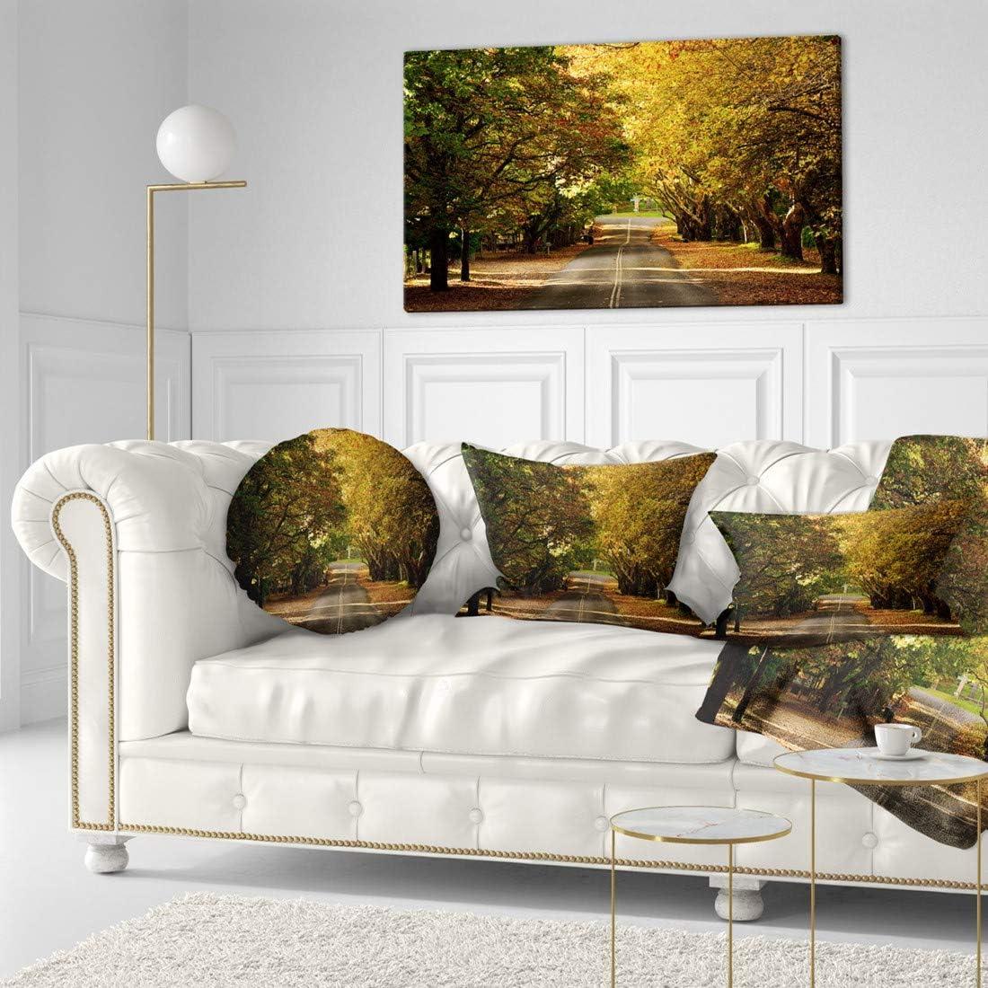 Design Art PT10231-40-20 ついに入荷 Road Through Trees-Land 男女兼用 Beautiful Green