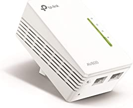 Best TP-Link AV600 Powerline WiFi Extender - N300 WiFi, Add-on Single Adapter, Ethernet over Powerline, Plug & Play, Compatible with all TP-Link powerline adapters with different speed(TL-WPA4220) Reviews