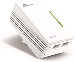 TP-Link AV600 Powerline WiFi Extender - N300 WiFi, Single Adapter, Compatible with all powerline adapters with different speed(TL-WPA4220)