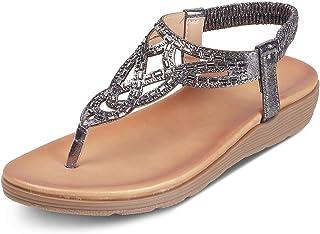 tresmode Women Fashion Back Strap Sandals   Footwear Flats for Girls