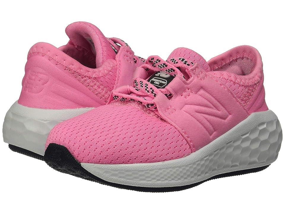 New Balance Kids IDCRZv2 (Infant/Toddler) (Guava/Light Cobalt) Girls Shoes