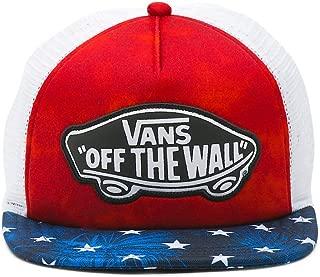 Women's Beach Girl Trucker Hat Cap - American Flag