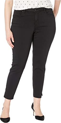 Plus Size Ami Skinny Ankle in Black