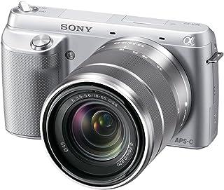 Sony NEX-F3K/S 16.1 MP Mirrorless Digital Camera with 18-55mm Lens (Silver)