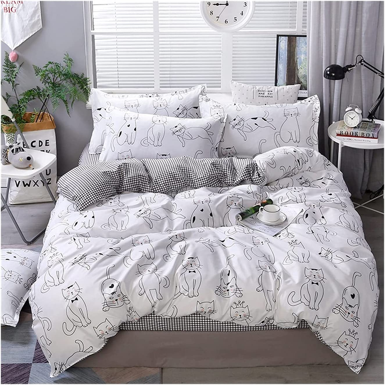 LSDJ QMDSH Home Textile Girl Bedding Al sold out. Cover Max 51% OFF Pink Peach Duvet Set