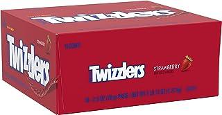 Twizzlers Licorice Candy Bulk, Strawberry Twists,  (2.5 oz packs, 18 ct. )