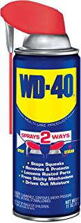 WD-40 Multi-Use Product - Multi-Purpose Lubricant with Smart Straw Spray. 11 oz. (12 Pack)