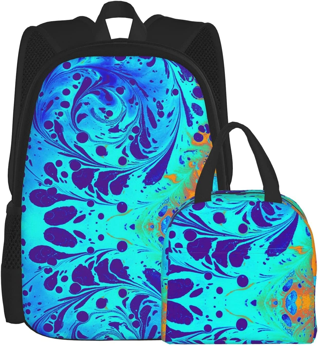 Abstract Marbling Floral Wholesale Pattern Backpacks Men For Women Teen Co Boston Mall