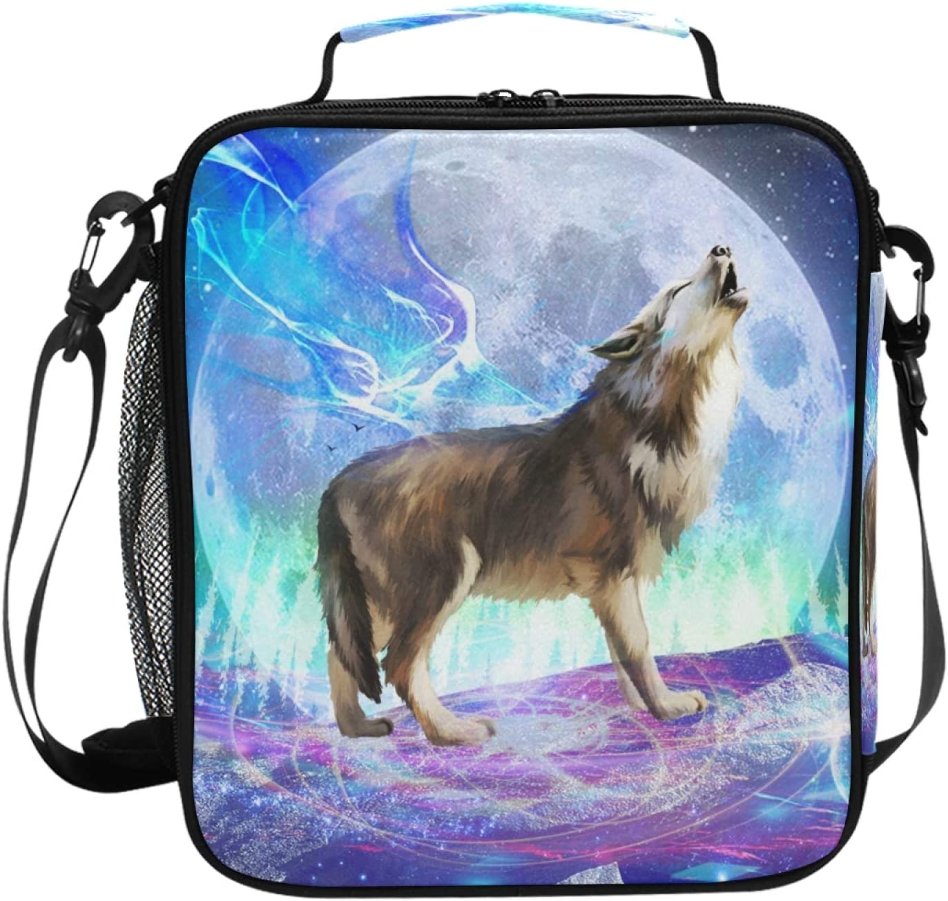 Wolf Lunch Selling and selling Box High material Insulated Bag Freezable Large Boxes C