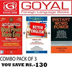 Word Power Made Easy + Better English + Instant Word Power (Set of 3 books)