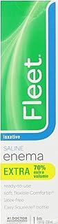 Fleet Enema Extra Saline Laxative, 7.8 oz. (Pack of 3)