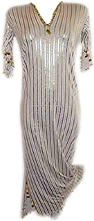 bonballoon Belly Dance Nancy Galabeya Dress Costume Stretchy Baladi Saidi Handmade Egypt 4