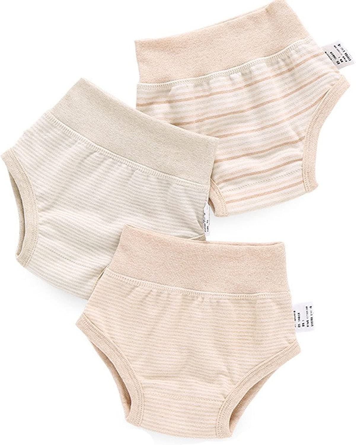 Gemini Fairy Baby Underwear 3 Organic 2021new shipping Limited time sale free Pants Cotton Pack