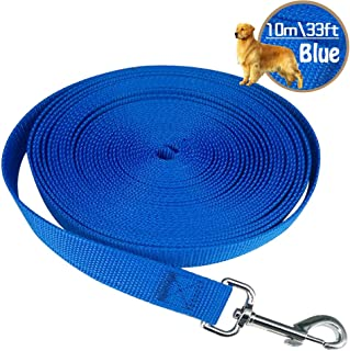 HuLuBB Dog Leads Training Leash for Camping Tracking Training Obedience Backyard Play 10m//33ft - Blue
