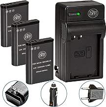Pack of 3 BM Premium EN-EL23 Batteries and Battery Charger for Nikon Coolpix B700, P900, P600, P610, S810c Digital Camera