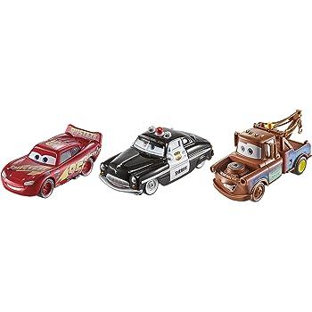 Disney Cars Toys Disney/Pixar Cars Die-cast 3-Pack, Model:FXH57