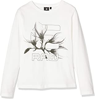 G-STAR RAW Sp10586 LS tee Camiseta de Manga Larga para Ni/ñas