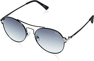 IDEE Gradient Round Women's Sunglasses - (IDS2283C1SG 56 Smoke Gradient Color)