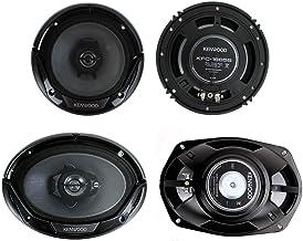 """Kenwood KFC-1665S + KFC-6965S 6.5"""" 300W 2-Way Plus (2) 6x9 400W 3-Way Car Speakers photo"""