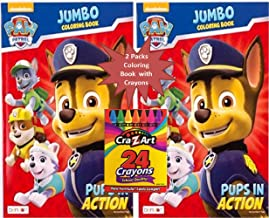 Best paw patrol jumbo coloring book Reviews