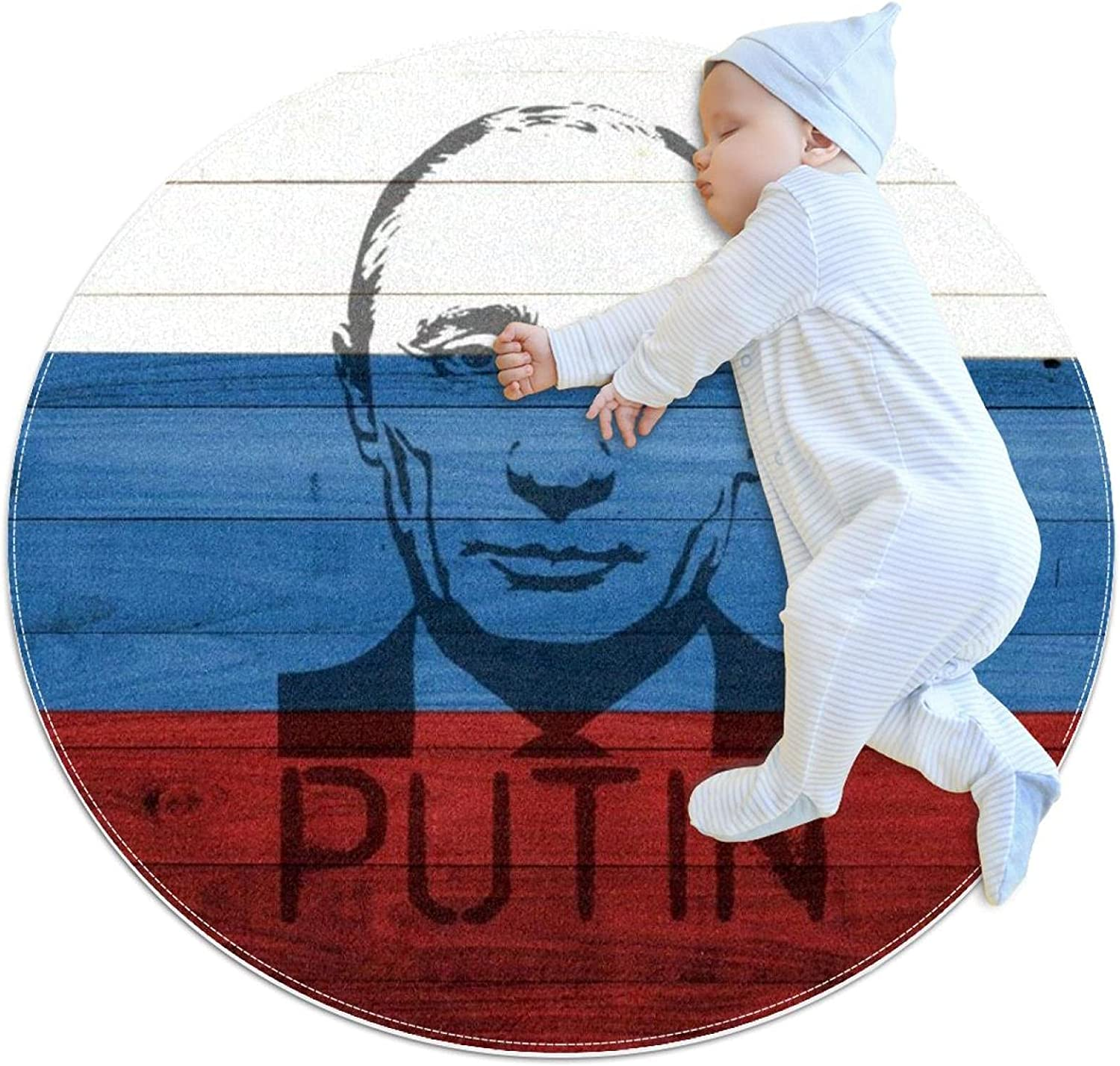 Limited time sale PresidentsRussianpainting Kids Polyester Play Crawling Soft Max 62% OFF Mat