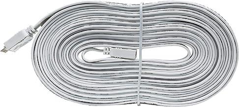 Paulmann 70574 MaxLED aansluitkabel voor LED-strip 5 m verlengkabel Stripe Accessoires overbrugging wit Oneffenheden compe...