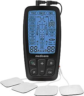 comprar comparacion Medisana TENS, aparato de corriente de estimulación EMS con 60 programas aparato profesional de electroterapia relajación ...