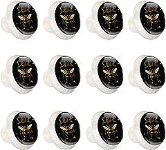 """12 Pack ronde keukenkast knoppen trekt (1-37/100"""" diameter) - Queenbee Animal Vintage Art - dressoir lade/deur hardware - ..."""