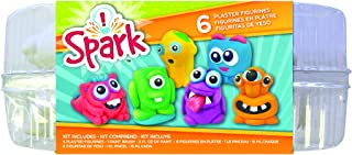 Colorbok 54865A Plaster Figurines