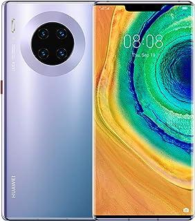 "Huawei Mate 30 Pro 4G Smartphone, Dual SIM, 256GB memory, 8GB RAM, 6.53"" curved screen, Quad Camera - Space Silver"