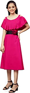 Fashion Dream Girl's Cocktail Knee Length Dress