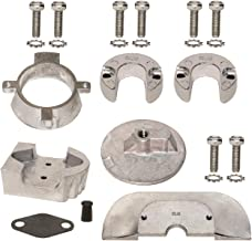 Aluminum Anode Kit for Mercruiser Sterndrive Alpha One Generation II Gen 2 1991 & Up Replaces 888756Q03 Read Product Description for Applications