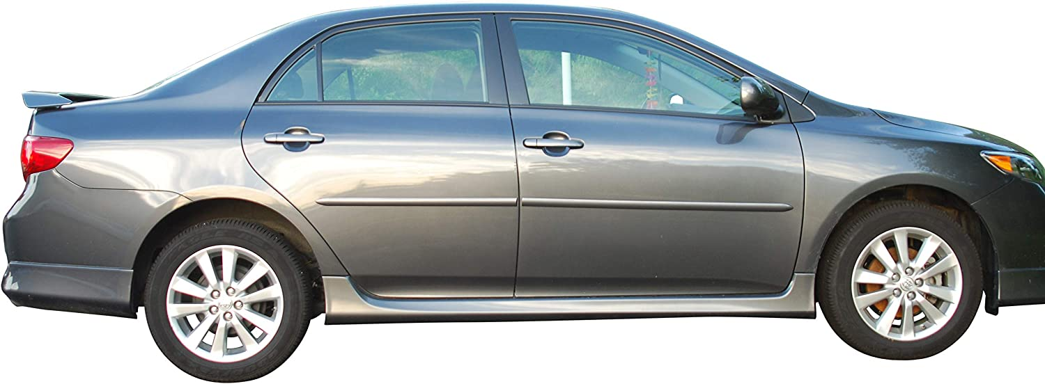Body Side Moldings made for Painted Toyota Corolla 2009-2013 Spring new Baltimore Mall work one after another the