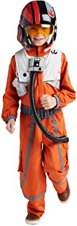 STAR WARS Poe Dameron Costume for Boys, Size 3 Orange