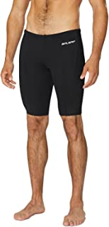 Men's Athletic Durable Training Polyester Jammer Swimsuit