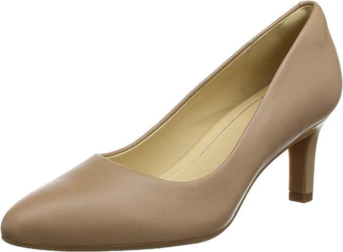 TALLA 40 EU. Clarks Calla Rose, Zapatos de Tacón Mujer