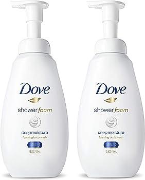 4-Count Dove Instant Foaming Body Wash, 13.5 oz