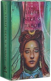 78 Tarotkort, The Rider Tarot Deck Cards är hologrampapper med blixteffekt, Tarot Cards Set Soul Cards Tarot Deck, Ödet Di...