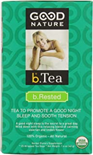 Good Nature Organic B Rested Tea, 20 count, 1.4 Ounce