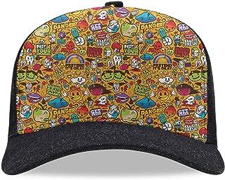 Classic Soft Baseball Cap Quickly Dry Art Trucker Running Sun Hat Gift for Men