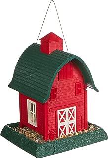 North States Village Collection Around Town-Birdfeeder-Red Barn