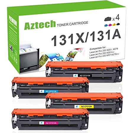 NYT Compatible High Yield Toner Cartridge Replacement for CF310A CF311A CF312A CF313A for HP Color Laserjet M855DN Black, Magenta, Yellow, Cyan, 4-Pack