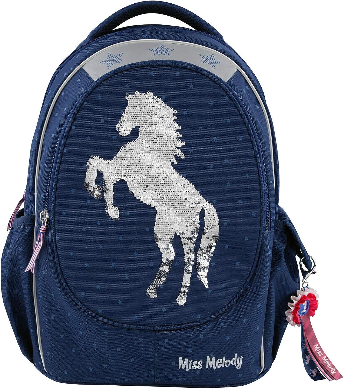 Depesche Miss Melody 7726 School Rucksack bluee