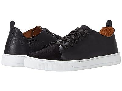 Massimo Matteo Capri Suede Leather Sneaker